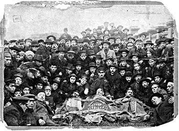 H εβραϊκή σοσιαλιστική φρουρά άμυνας στην Οδησσό του 1903