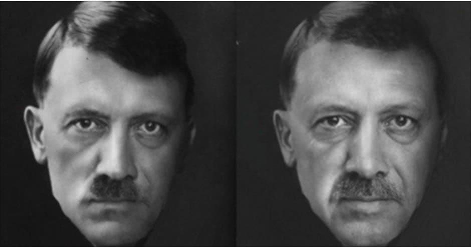 Αποτέλεσμα εικόνας για ερντογαν χίτλερ